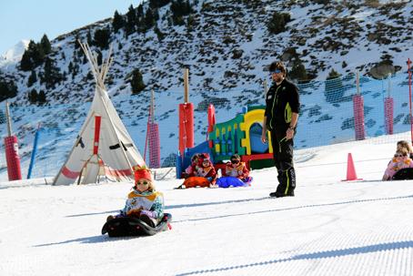 Estaciones de esquí para niños Formigal