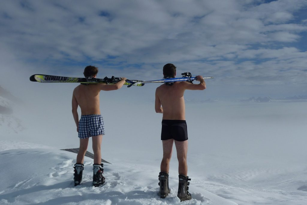 material que necesitas para esquiar