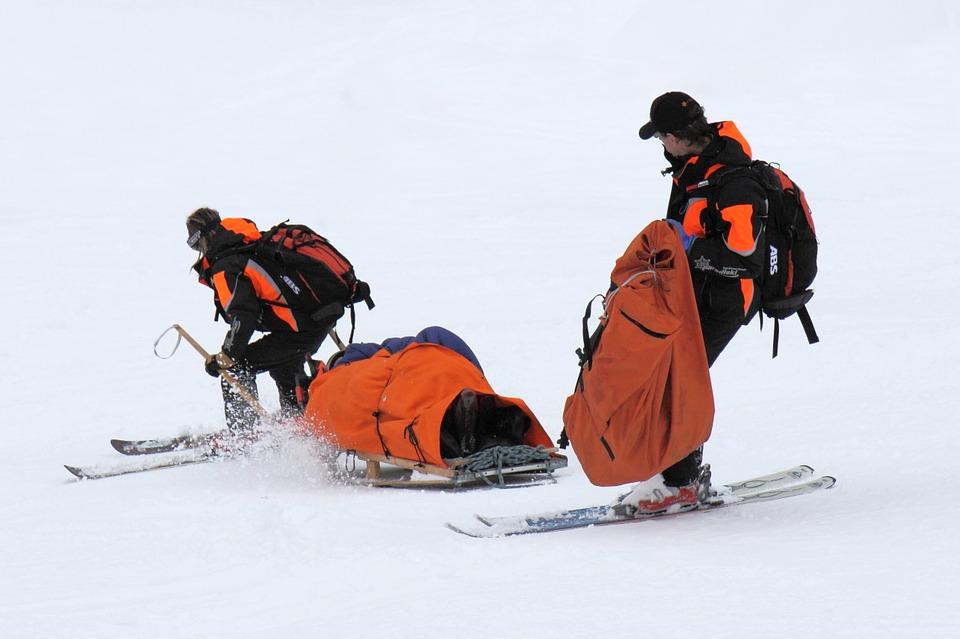 Accidente esquí